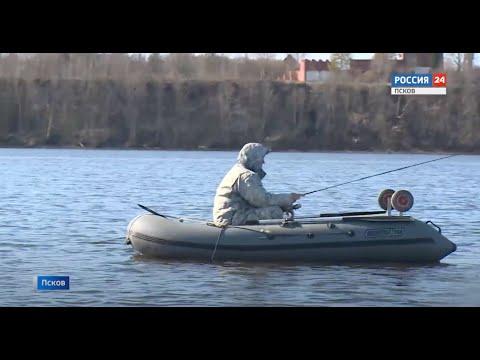 Инспекторы рыбоохраны проверили псковских рыбаков