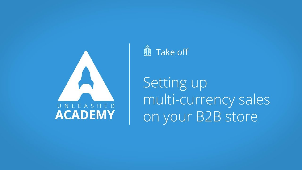 Setting up multi currency sales on your B2B store YouTube thumbnail image