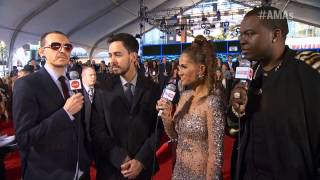 Linkin Park, Linkin Park Red Carpet Interview - AMA 2012