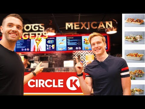 Kan vi äta upp ALLT på Circle K:s meny? download YouTube