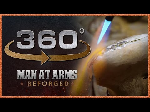 Tour of Man At Arms: Reforged Shop In 360 - The Machine Room!