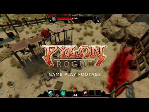 Pylon: Rogue Game Play Trailer thumbnail