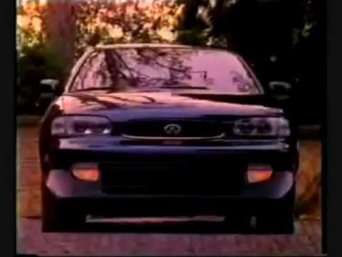 Infiniti j30 TV commercial