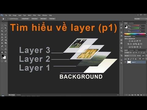 Photoshop CS6:Tìm hiểu về Layer và cách dùng - p01