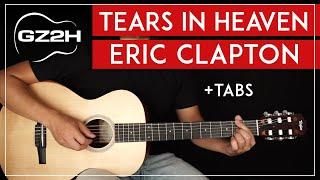 Tears In Heaven Guitar Tutorial Eric Clapton Guitar Lesson |Easy Fingerpicking|