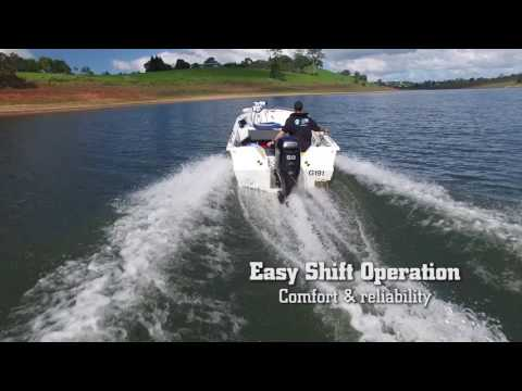 2018 Mercury Marine 40 hp EFI Command Thrust in Barrington, New Hampshire