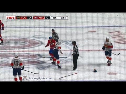 Nicolas Deslauriers vs. Aaron Ekblad