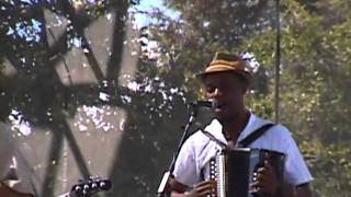 Cedric Watson and Bijou Creole @ 2010 Simi Valley Cajun  Blues Music Fest