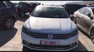 Обзор автомобиля Volkswagen Passat  2016 1.8 TSI SE