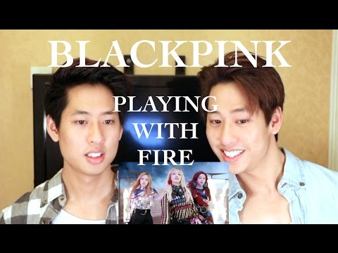 BLACKPINK - Playing With Fire MV Reaction 불장난 (The Siu Twinz)