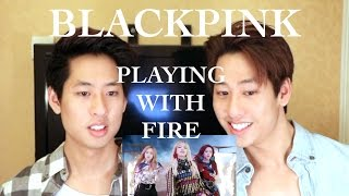BLACKPINK   Playing With Fire MV Reaction 불장난 (The Siu Twinz)