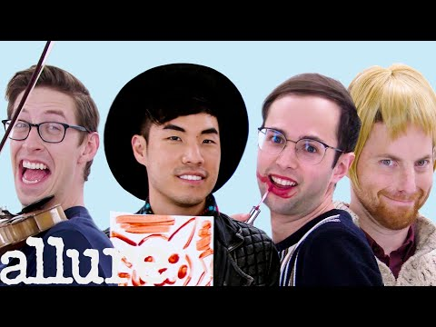 The Try Guys Try 9 Things They've Never Done Before | Allure (видео)