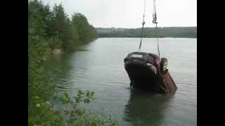 2012.07.18 Шабры - Тягаем тачку из под воды