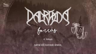 Dalriada - Hírhozó / akusztikus (Hivatalos szöveges video / Official lyrics video)