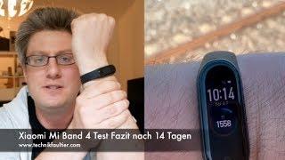 Xiaomi Mi Band 4 Test Fazit nach 14 Tagen