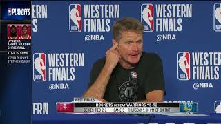 Coach Steve Kerr | Western Conference Finals Game 4 Press Conference - Video Youtube