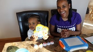Teaching a toddler to read | 2 years old| Homeschool