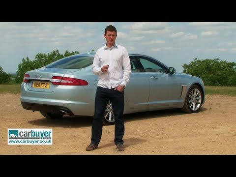 Jaguar XF saloon review - CarBuyer