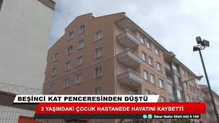 Konya'da beşinci kattan düşen çocuk hayatını kaybetti