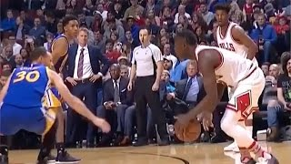Steph Curry Gets His Ankles BROKEN by Jerian Grant Crossover