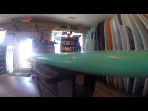 9'6″ Modern longboard BOARDGRAB