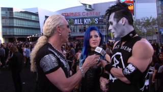 Doyle Wolfgang von Frankenstein and Alissa from Arch Enemy at 2014 Revolver Golden Gods
