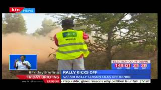 Jaspreet Chatthe leads in day one of the 65th edition of the Safari rally