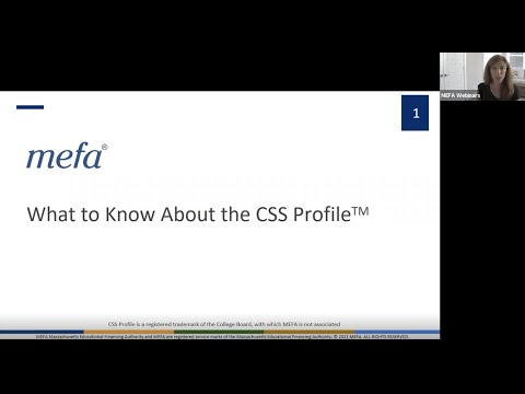 What to Know About the CSS Profile<sup>TM</sup>