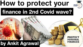 How to protect your FINANCE in Second Covid 19 Wave? Economy Current Affairs for UPSC