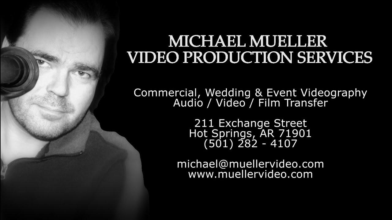 Michael Mueller Video Production Demo Reel