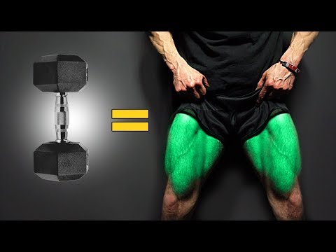 The BEST Dumbbell Exercises – LEGS EDITION!