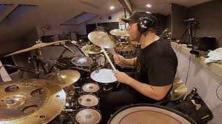 """Thomas Lang recording """"Why Not"""" for Javier Salinas. Session footage 2 takes"""