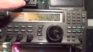 Barely audible but the Buzzer is there 4625 Khz Shortwave