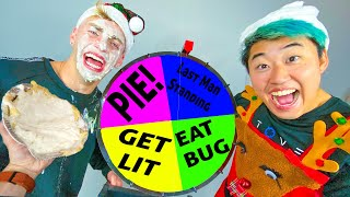 Spin the MYSTERY WHEEL Challenge (Christmas Edition)