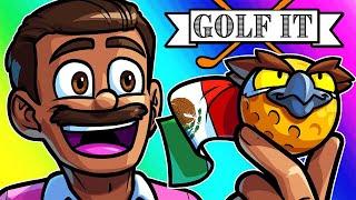 Golf It Funny Moments - Vanoss Plays Best Coach!
