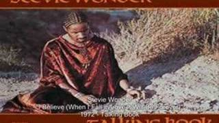 Stevie Wonder - I Believe (When I Fall in Love It Will Be Forever)
