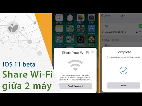 Cách share Wi-Fi giữa 2 máy chạy iOS 11   Tinhte.vn