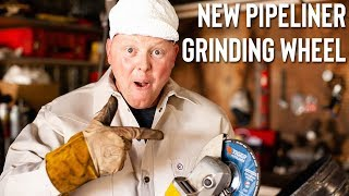 HOW TO USE A GRINDING WHEEL (TO GRIND THE BEAD & FACE THE PIPE)