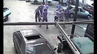 Драка в Талдыкоргане 16.08.2017