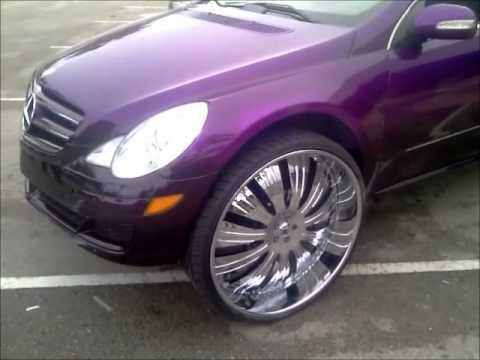"""Mercedes Benz R Class on 30"""""""