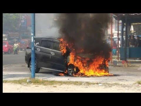 Berita Terkini - Jelek Kualitas  Mitsubishi Expander   Mobil Baru Kebakaran  