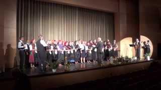 preview picture of video 'Mondschein-Chor Szekszárd - Hoch am Himmel'
