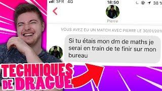 LES PIRES MESSAGES DE DRAGUE SUR LES RÉSEAUX SOCIAUX ! #2