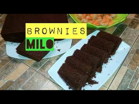 Video Cara Membuat Brownis Milo Kukus # How to Cooking Milo Brownis #