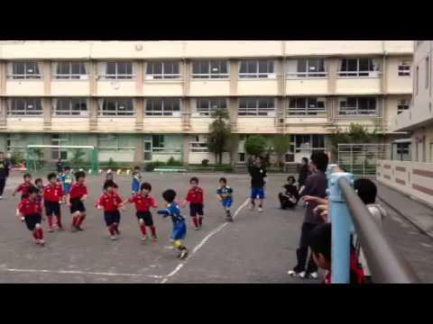 2012.4.28こすげ小学校1試合目前半