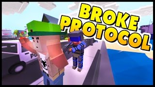 Broke Protocol - I WAS ROBBED! GTA V + Unturned - Let's Play Broke Protocol Gameplay