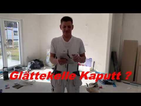 Spachtel - Besteck reparieren, kein Problem/Trockenbau DIY~ Video 24 ~