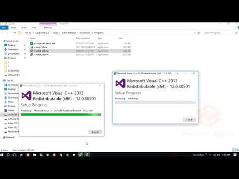 How to Fix OBS Studio Installing Problem  With vcredist x86 and vcredist x64