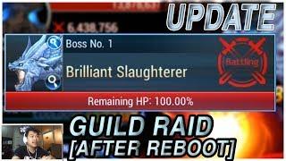 Seven Knights - BRILLIANT SLUGHTERER (After Reboot) Guild Raid Update