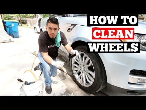 How To Clean WHEELS- Comparing WHEEL WOOLIES vs EZ DETAIL BRUSH SET